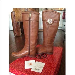 Tory Burch Selma Riding Boots - Size 5.5M